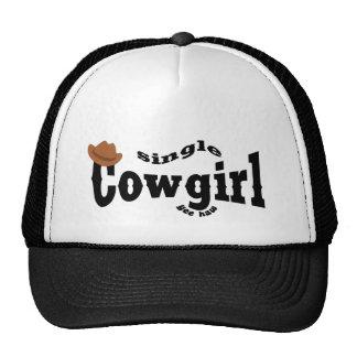 single Cowgirl Trucker Hat