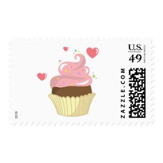 Single Cupcake Stamp