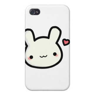 Single Cute Bunny iPhone 4 Case