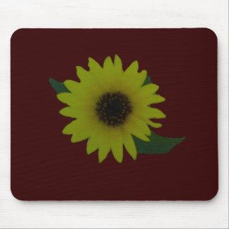 Single Cutout Wild Sunflower Mouse Pad