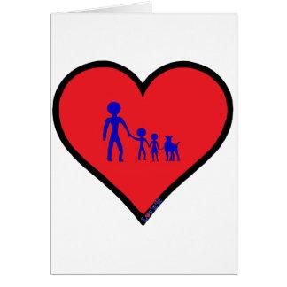 single dad card