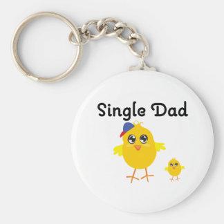 Single Dad Chick Key Chain
