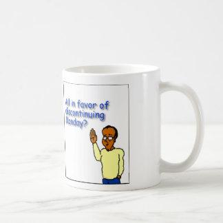Single Dad Diaries - Discontinue Mondays Coffee Mug