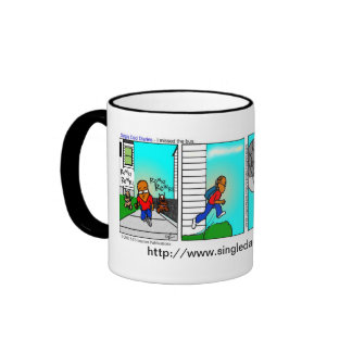Single Dad Diaries - I missed the bus coffee mug