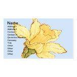 Single Daffodil Illustration by Kate Greenaway Business Card