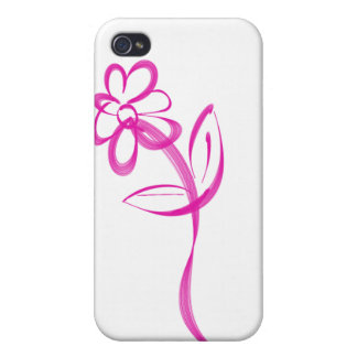 Single Daisy logo Cover For iPhone 4