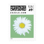 Single Daisy on Green - Small Floral Postage