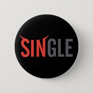 Single Dark 2 Pinback Button