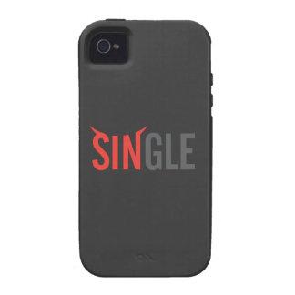 Single Dark 2 Vibe iPhone 4 Cases