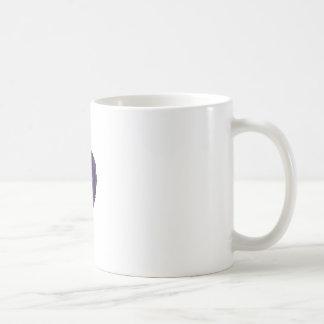 Single Dark Blue Tea Rose Coffee Mug
