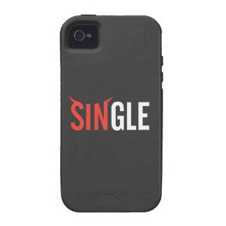 Single Dark iPhone 4 Case
