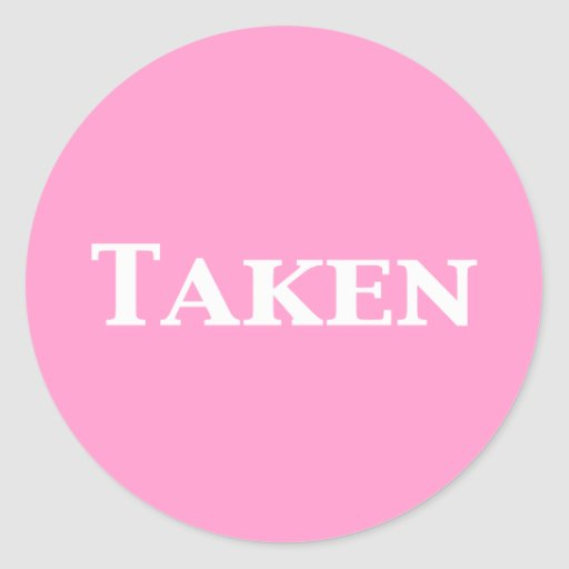 Single Dating or Taken Gifts Sticker