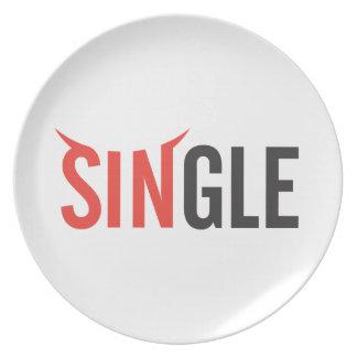 Single Dinner Plate