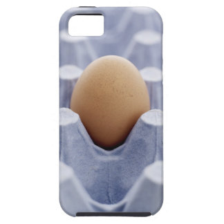Single egg in egg carton, close up iPhone 5 covers