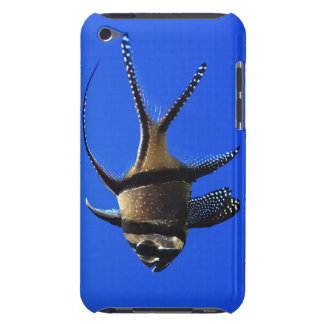 single-fish-in-aquarium barely there iPod covers