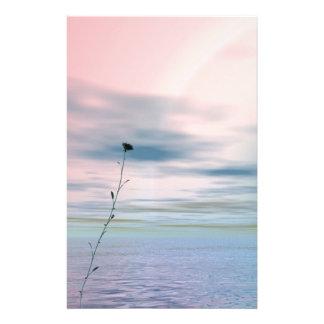 Single Flower ~Sationery~ Custom Stationery