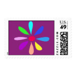 Single Flower Stamp