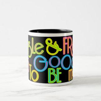 Single & Free Two-Tone Coffee Mug