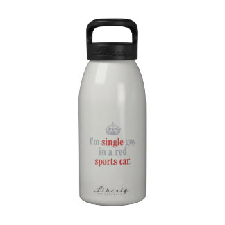 Single guy reusable water bottle