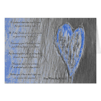 Single Heart Will You Be My Bridesmaid In Grey Greeting Cards