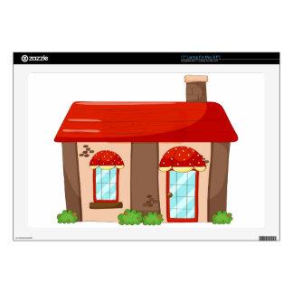 "Single house 17"" laptop skins"