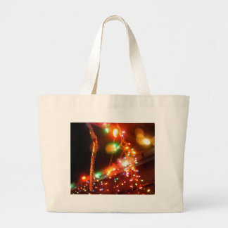 Single Icicle Large Tote Bag