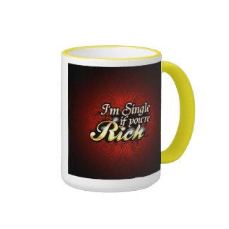 Single If You're Rich Mug