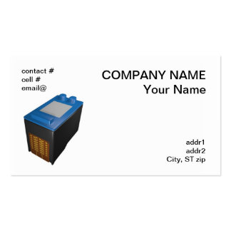 single inkjet printer cartridge Double-Sided standard business cards (Pack of 100)