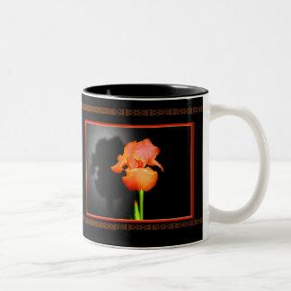 Single Iris Mugs