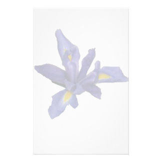 Single Iris Watermark Stationery