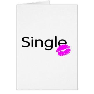 Single (Kiss) Greeting Card