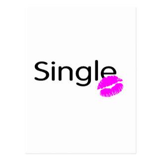 Single (Kiss) Postcard