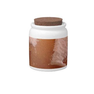 Single Krapfen ( italian doughnut ) Candy Jar