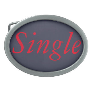 Single ladies belt buckle