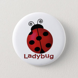Single Ladybug Button
