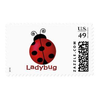 Single Ladybug Postage
