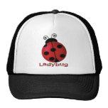 Single Ladybug Trucker Hat