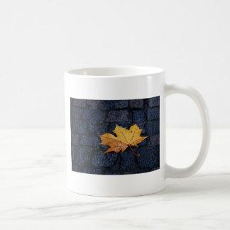 Single Leaf Coffee Mugs