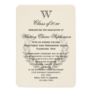 College Graduation Invitations Zazzle