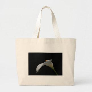 Single Lily Jumbo Tote Bag