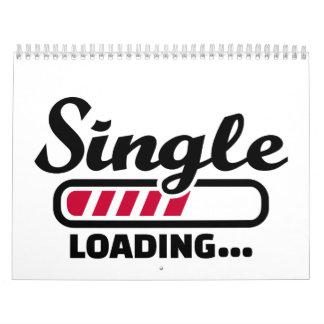 Single loading calendar