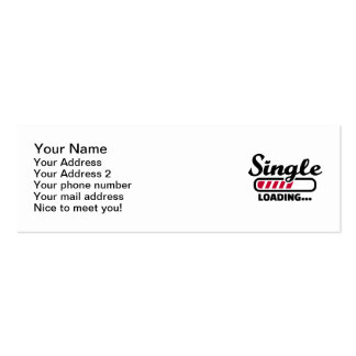 Single loading Double-Sided mini business cards (Pack of 20)
