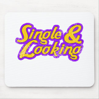 Single & Looking Mouse Pad