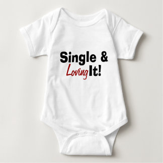 Single & Loving It! Baby Bodysuit