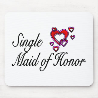Single Maid Of Honor Mouse Pad
