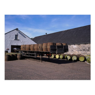Single malt scotch distillery post cards