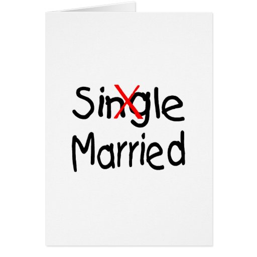 Single (Married) Cards