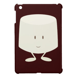 Single marshmallow character smiling case for the iPad mini