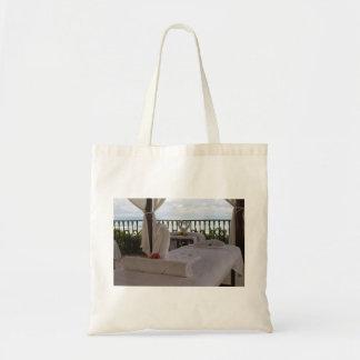Single Massage Table Tote Bag