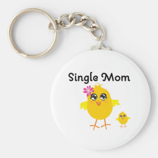 Single Mom Key Chain
